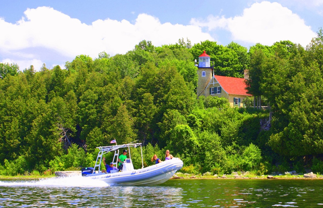 Fish Creek Boat Tours and Trips