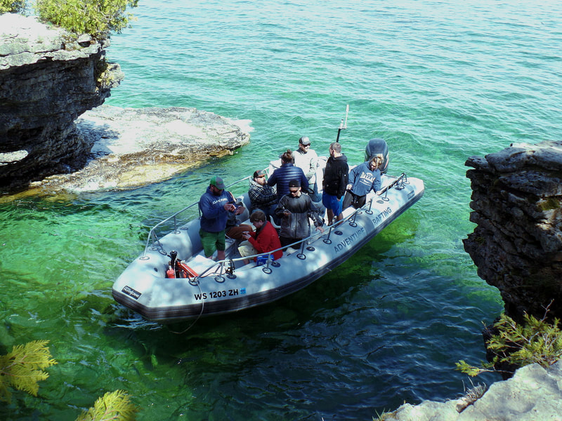 Door County Boat Tours and Trips with Adventure Rafting