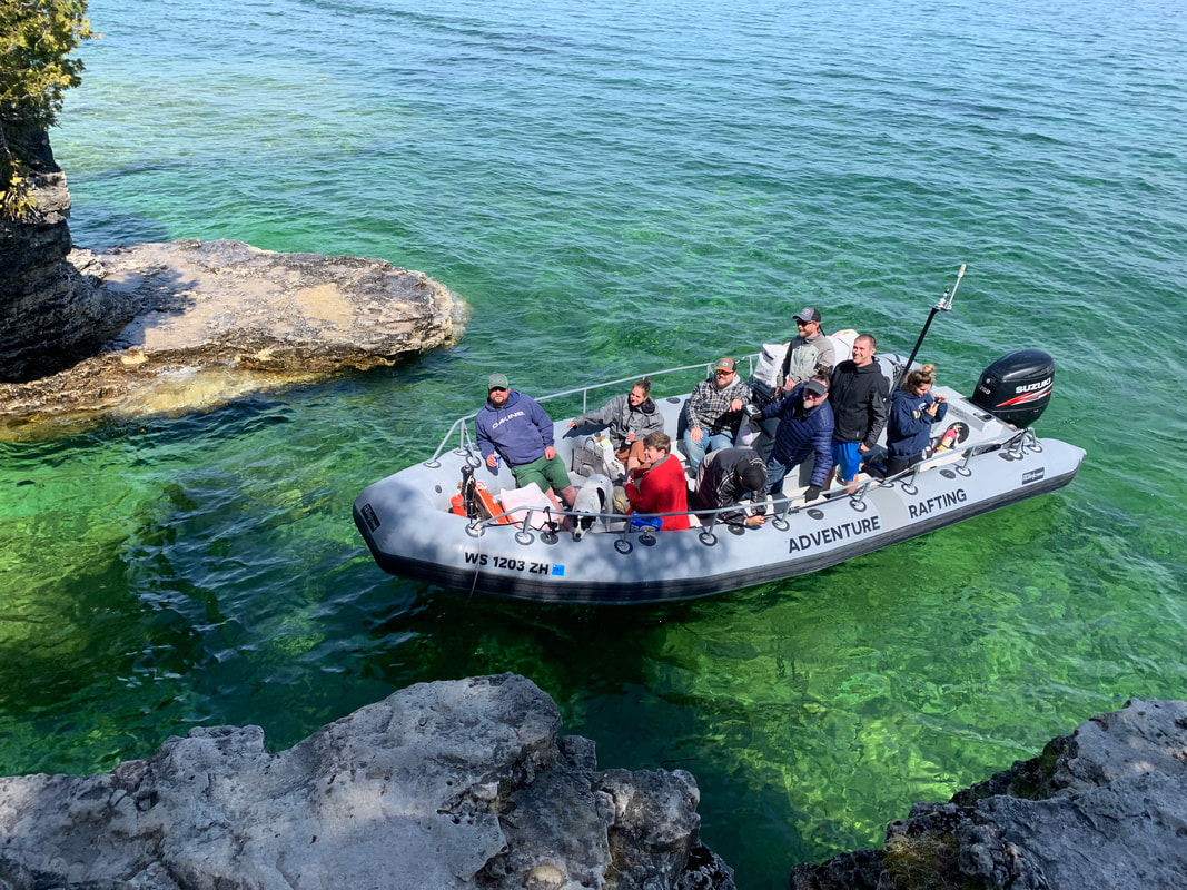 Cave Point Boat Tours Door County